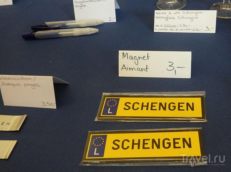 Магнитик с Шенгеном