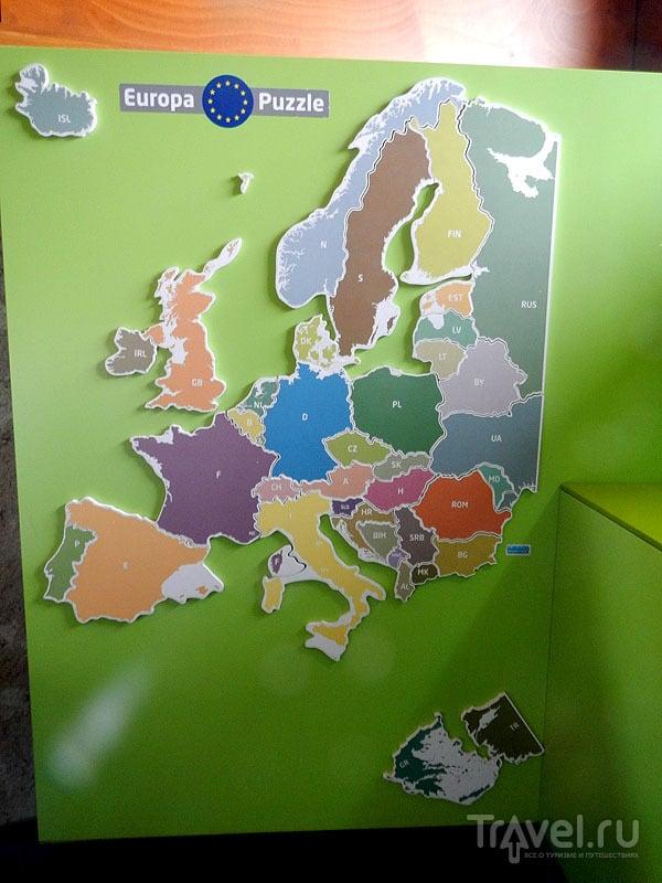 Паззл из шенгенских стран