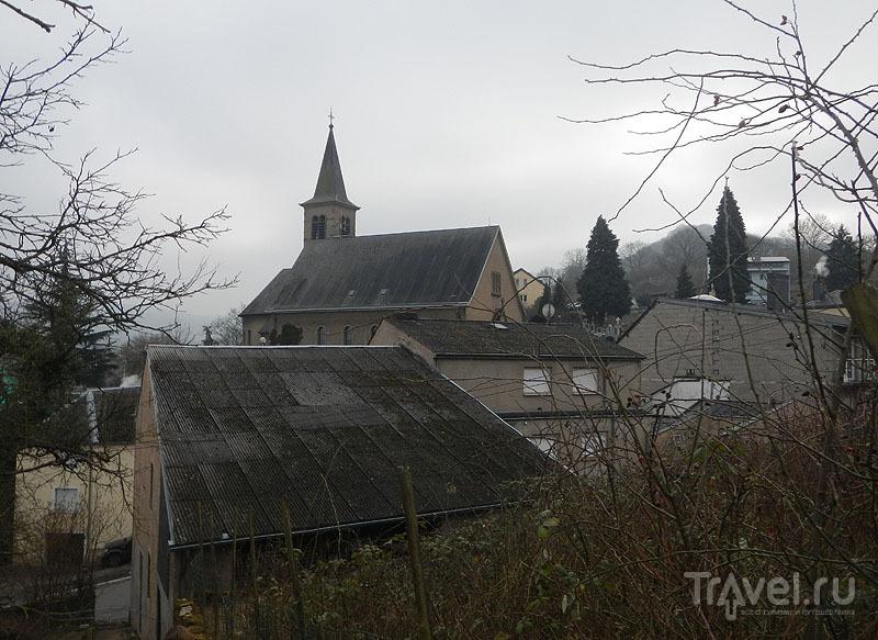 Крыши города Шенген