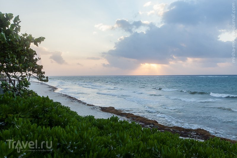 Поездка по Юкатану. Пляжный отдых в Тулуме / Фото из Мексики