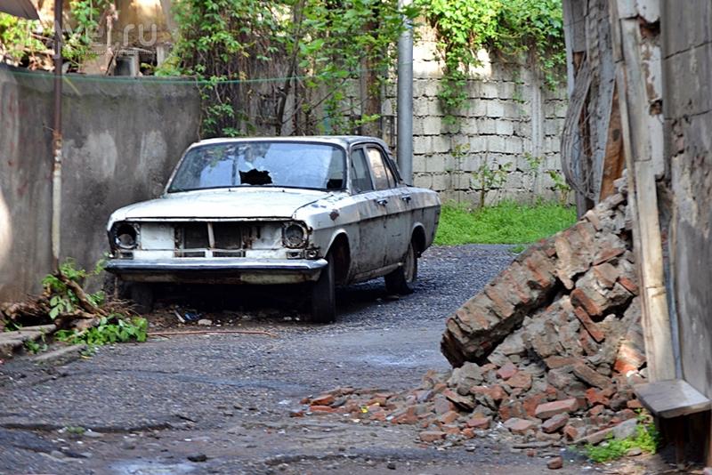 Проклятие грузинского турбизнеса или особенности автовождения на Кавказе / Грузия