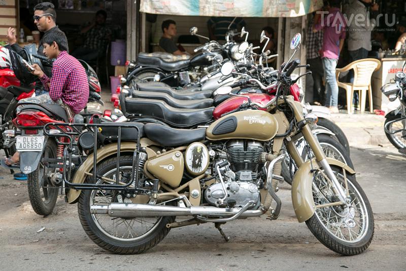 Каролбайки: как я арендовал мотоцикл в Дели / Индия