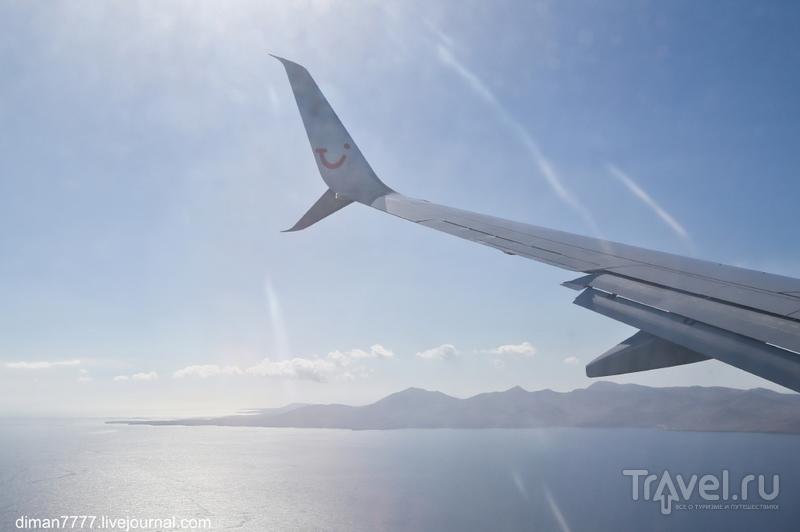 Полет Штутгарт-Лансароте-Штутгарт с TUIfly / Германия