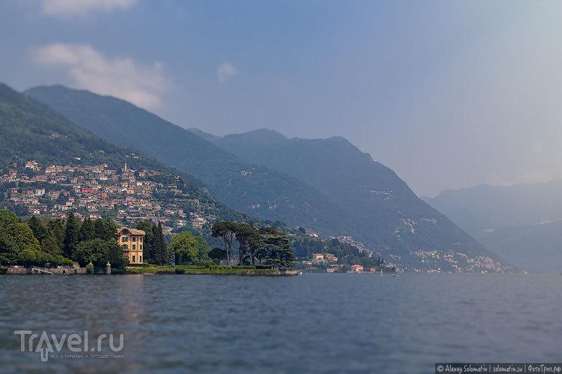 Навигация на озере Комо в Италии. Как удобней строить маршрут на катерах (лайфхак) / Италия