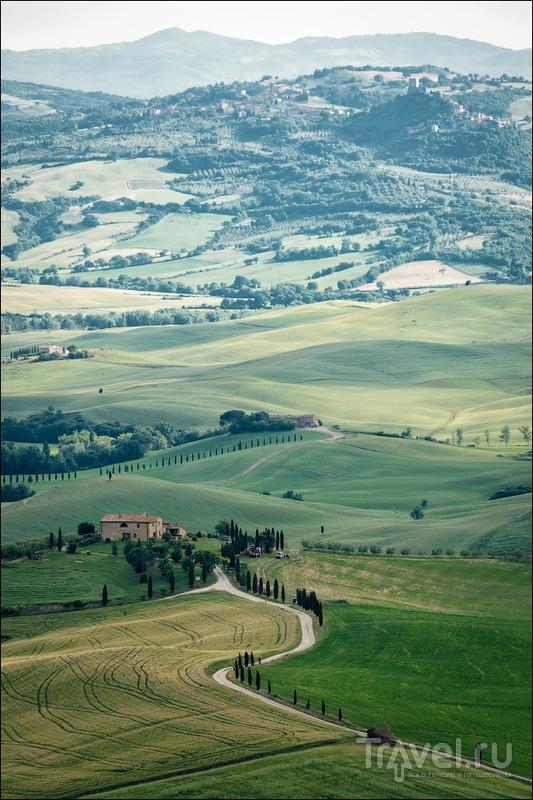 Val D'Orcia: Пьенца и Сан Квирико Д'Орча / Фото из Италии