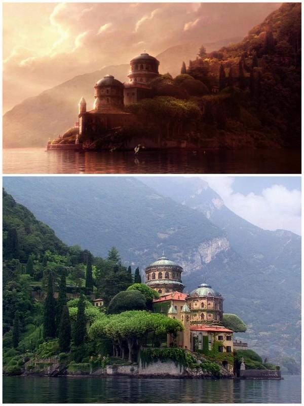Вилла Балбьянелло. Озеро Комо / Фото из Италии