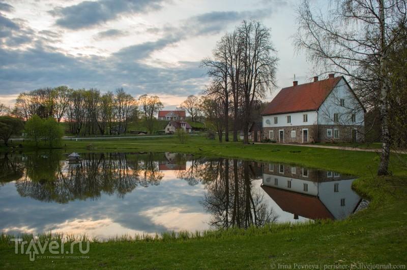Вечер в Турайдском заповеднике / Латвия