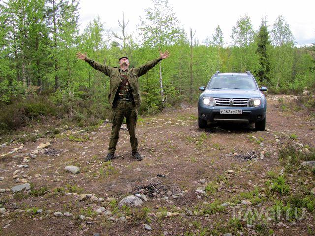Самая аномальная гора Карелии - Воттоваара / Россия