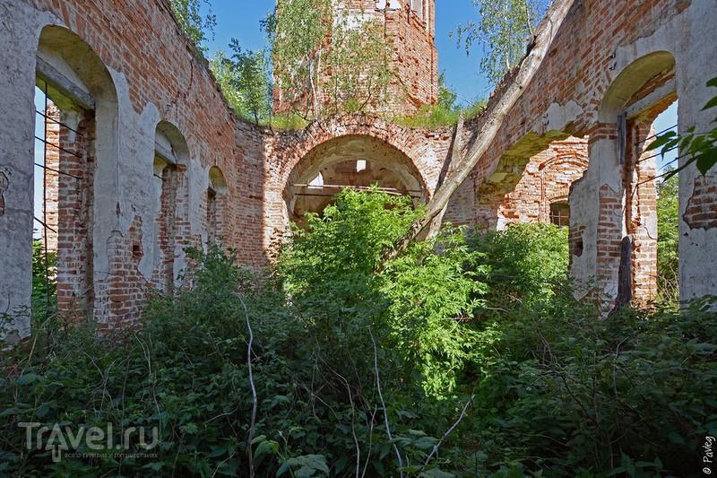 По забытым храмам Ферзиковского района / Фото из России