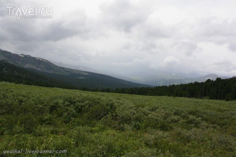 По Горному Алтаю на конях. Переход Уладо - Ашпагач / Россия