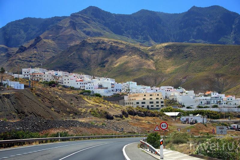 Гран-Канария, автомобильная трасса GC-200 / Фото из Испании