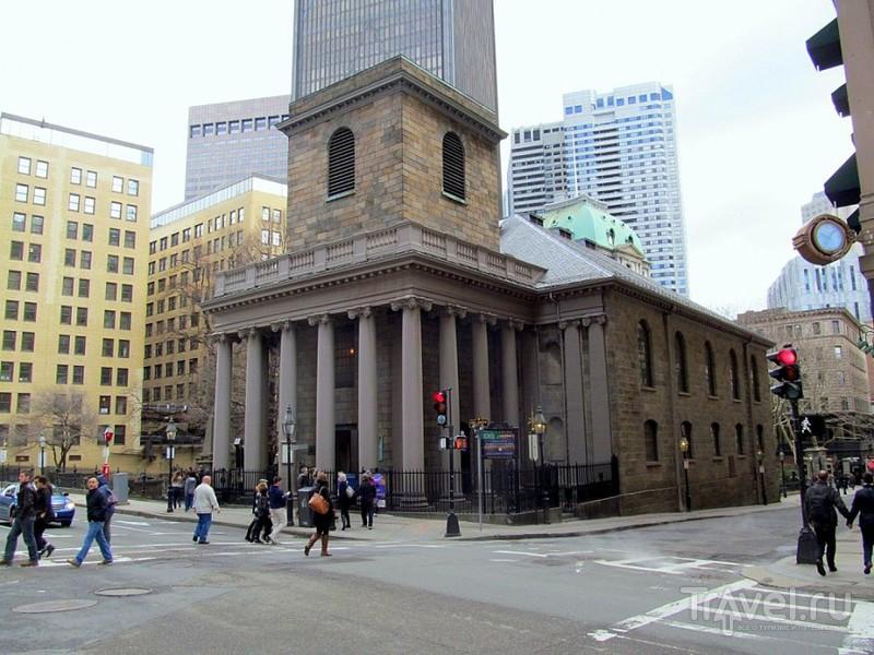 Бостон. Старый город и Финансовый район / США