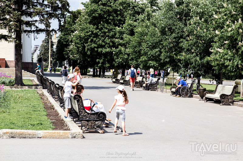 Москва. Оживший ВДНХ / Россия