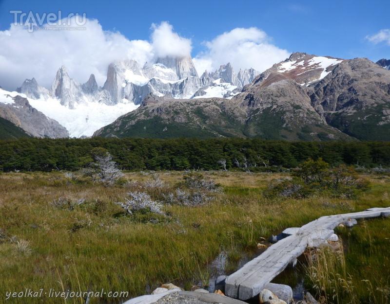 Чили - сбыча мечт! Патагония. Аргентина. Дорога к лагерю Пойнсенот и подъем к Фитц Рою / Аргентина