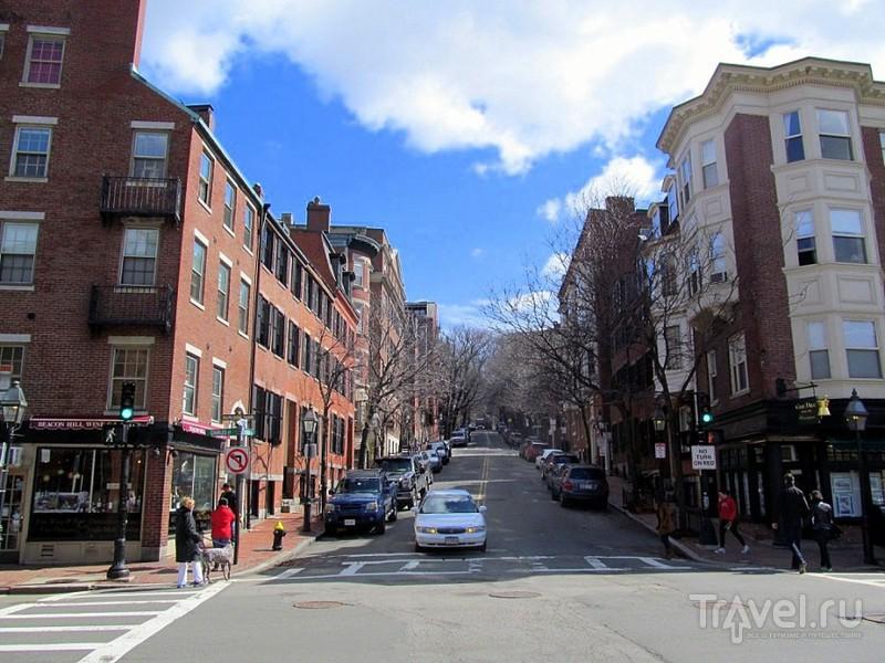 Бостон. Бэкон-хилл и Вест-энд / США