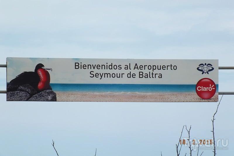 Галапагосы. Остров Санта-Крус. Остров Балтра / Эквадор