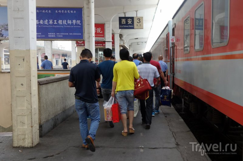 Китайские поезда - это вам не синкансэн / Китай