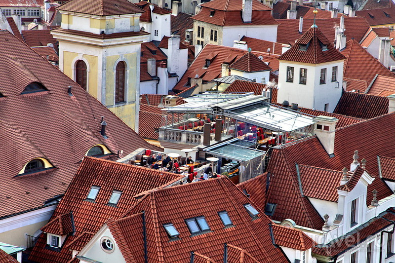 Прага с высоты / Фото из Чехии