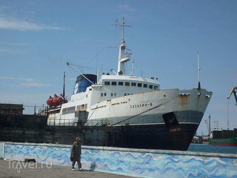 Паром на Сахалин: переправа Ванино - Холмск