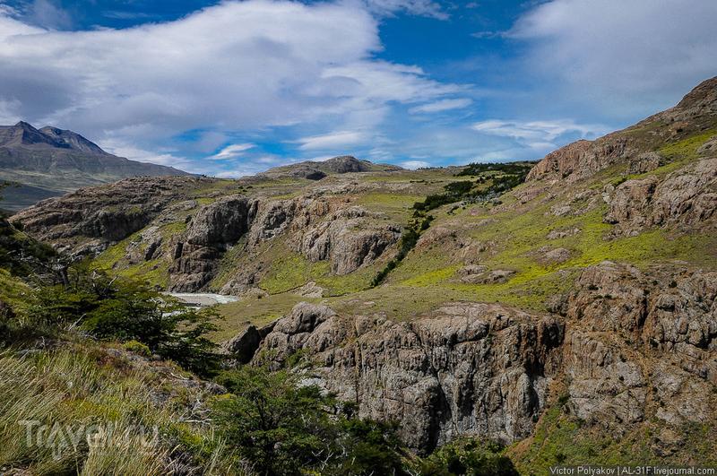 Аргентинская Патагония: гора Фицрой / Фото из Аргентины