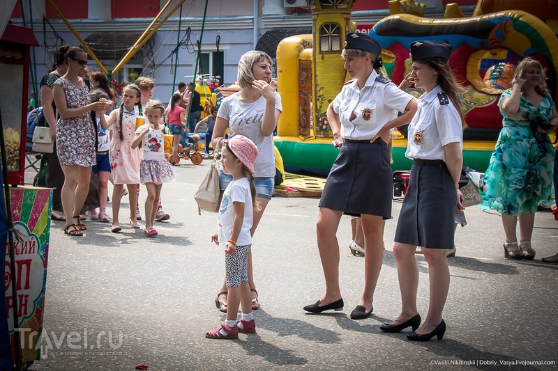 Как в Гусь-Хрустальном День города отмечали / Россия
