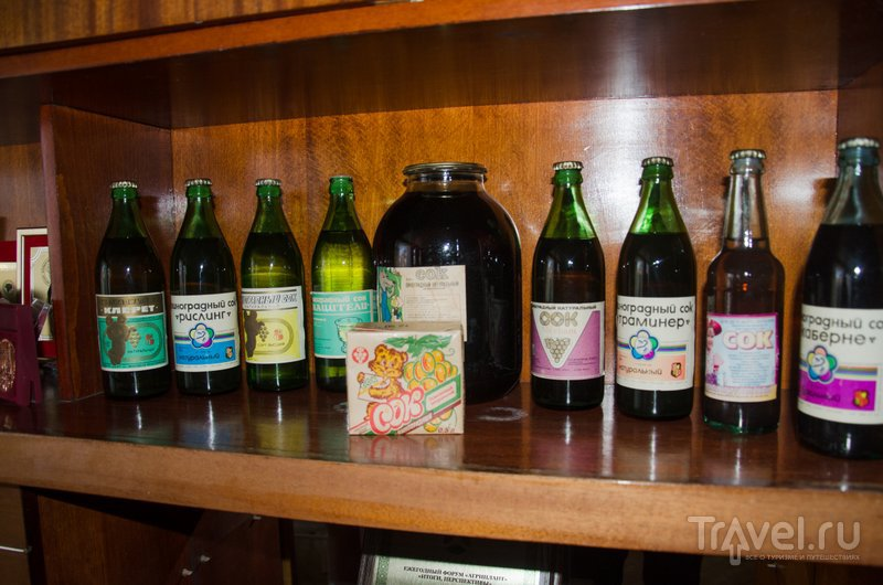 """Раритет: соки, которые производил Сенновский завод до того как стать """"Фанагорией"""""""