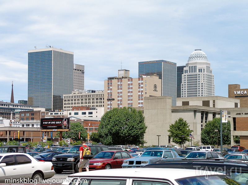 США 10 лет назад. Луисвилль - самый северный город американского Юга / Фото из США