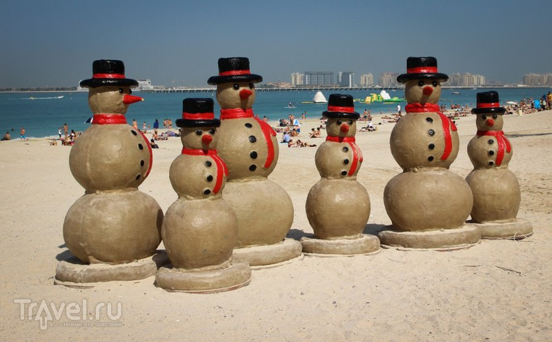 Новогодний Дубай / ОАЭ