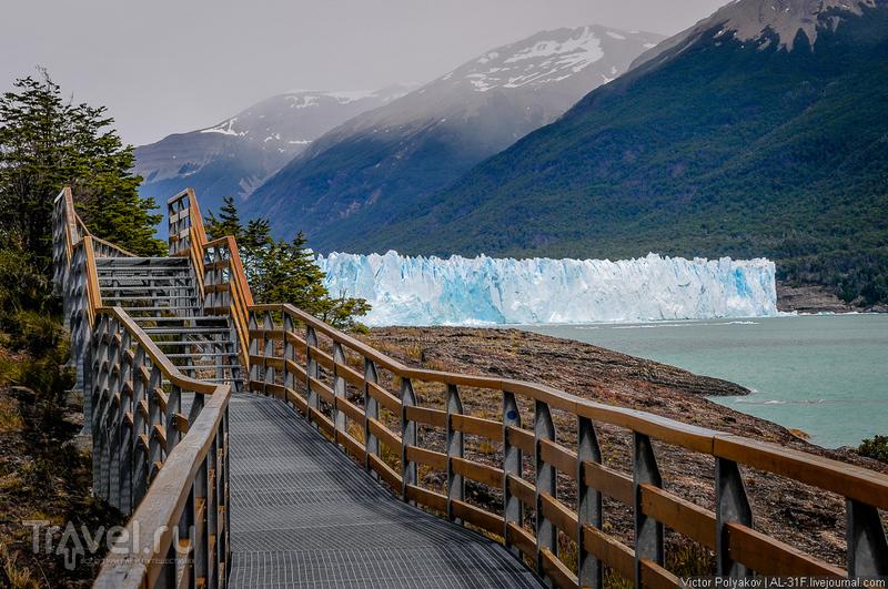 Аргентинская Патагония: ледник Перито-Морено / Фото из Аргентины