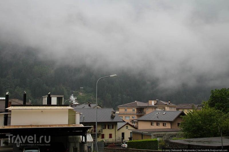 Плотина Верзаска / Фото из Швейцарии