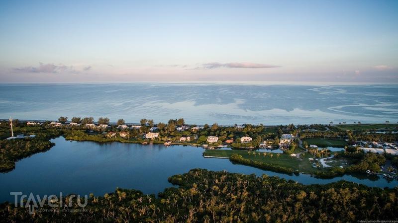 Остров Каптива с квадрокоптера / Фото из США