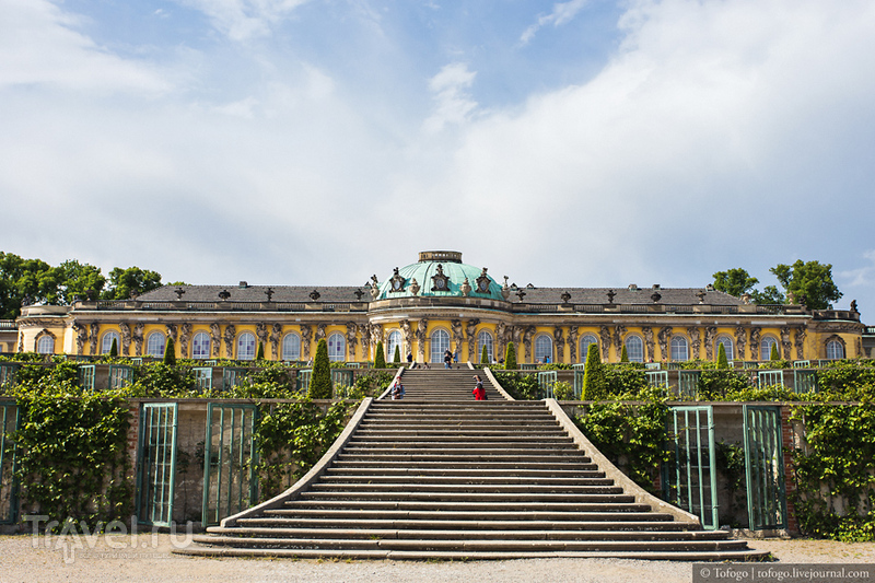 Потсдам. Парк Сан-Суси / Фото из Германии