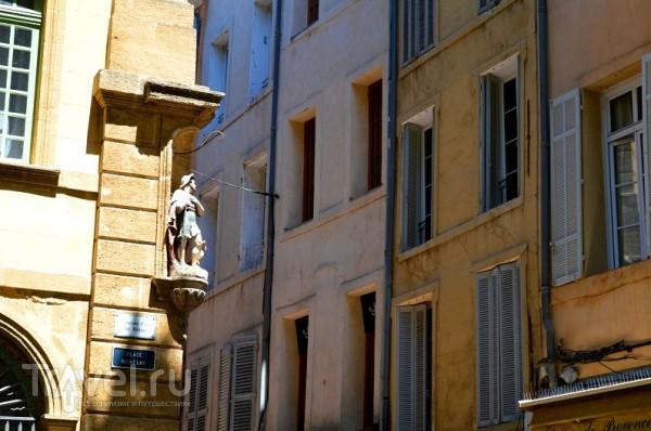 Экс-ан-Прованс - город тысячи фонтанов / Франция