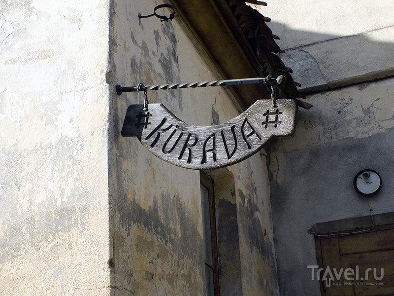 Пролетая над осенней Кулдигой / Фото из Латвии