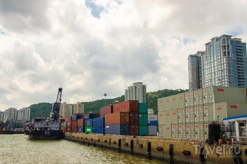 Грузовой порт Чжухая / Фото из Китая