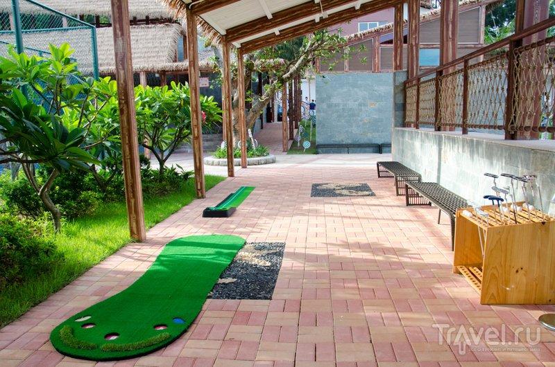 играть мини гольф даша: