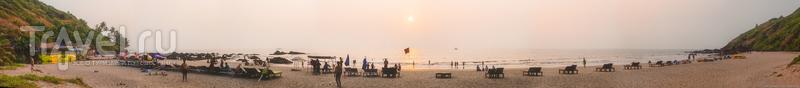 Пляжи Северного Гоа