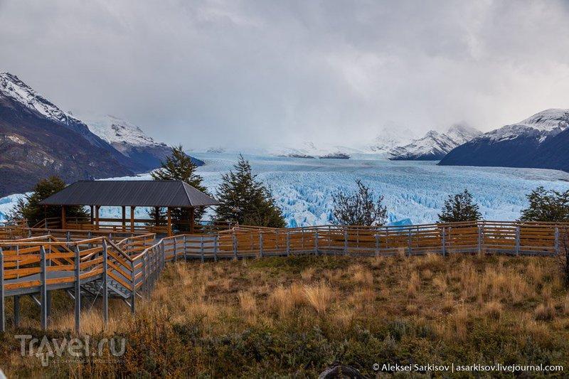 Патагония. Ледник Перито Морено / Фото из Аргентины
