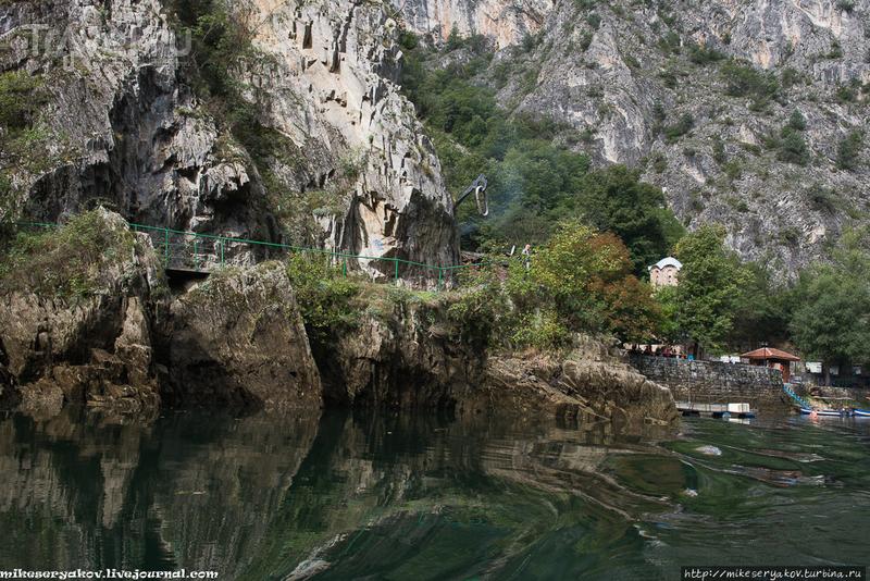 Македонский каньон Матка / Фото из Македонии