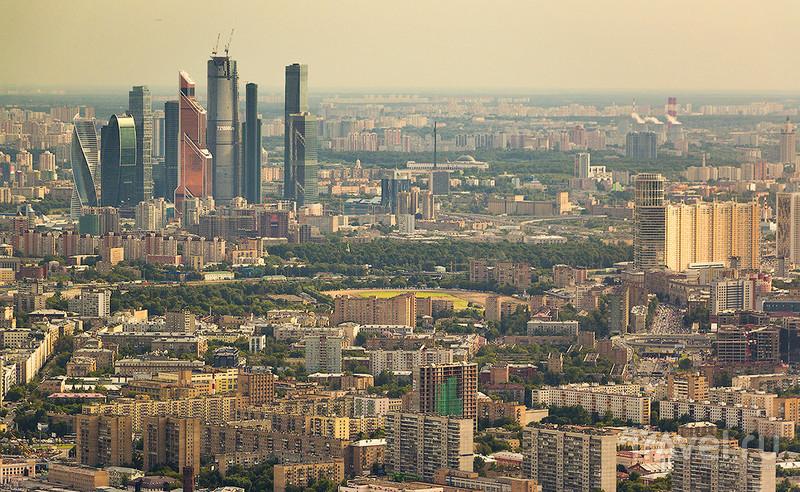 337 м над Москвой / Россия