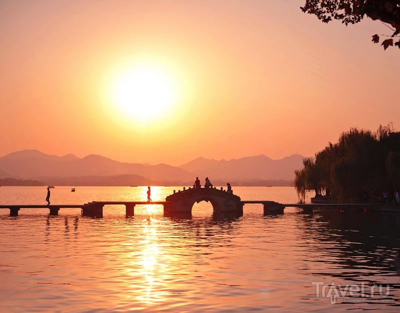Ханчжоу. Озеро Сиху - жемчужина богов / Фото из Китая