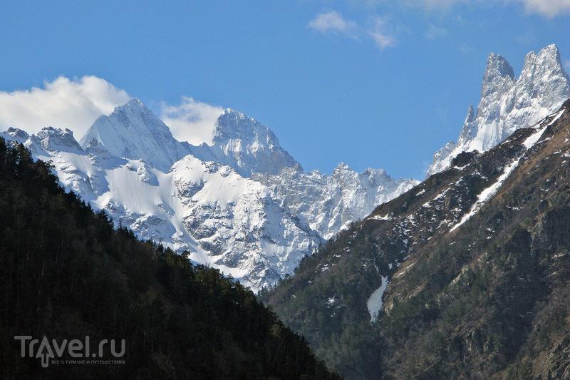 О вершинах Кавказа. Ушба / Фото из Грузии