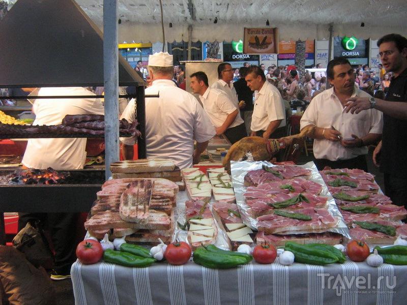 Уличная еда в Аликанте