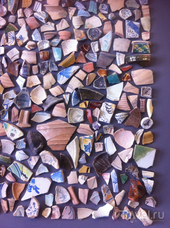 Кусочки керамики