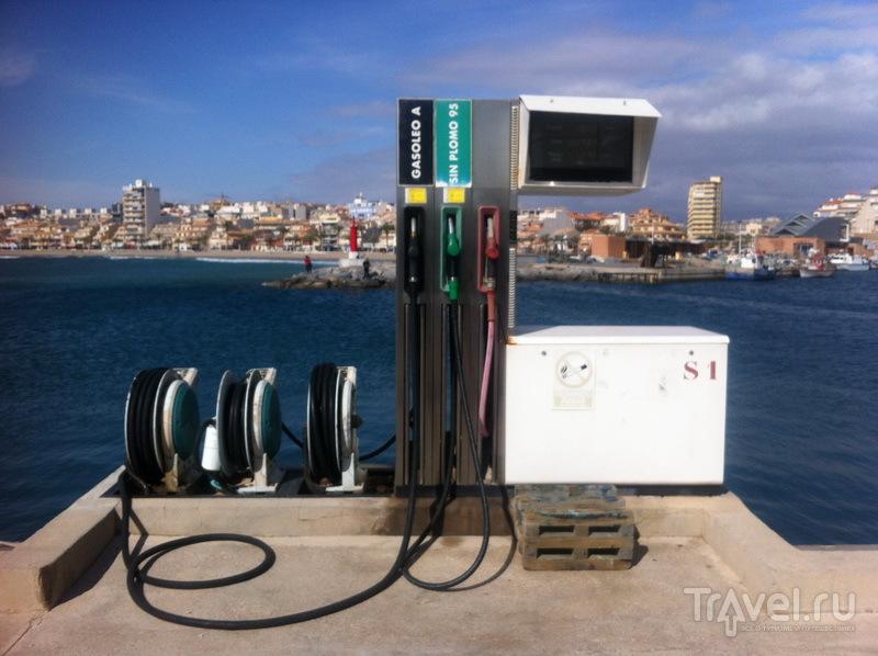 Заправка для водных транспортных средств