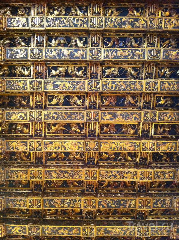 Потолок Консульского павильона