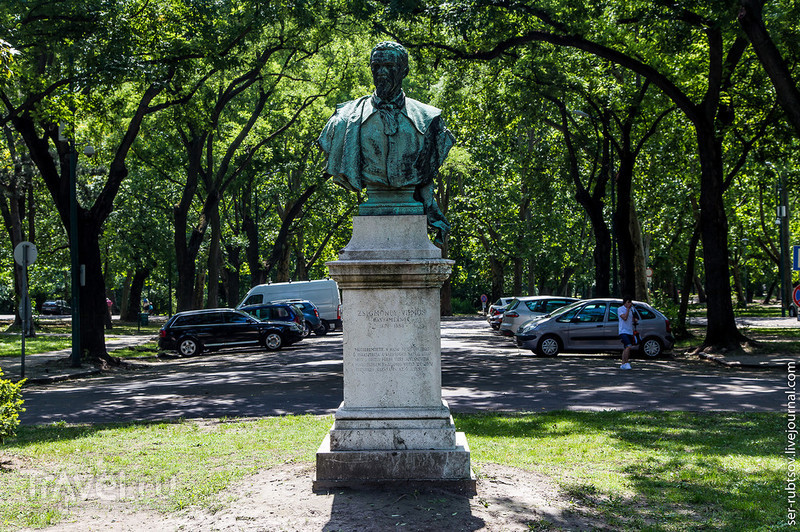 Парк Варошлигет - отличное место для прогулок в Будапеште / Венгрия