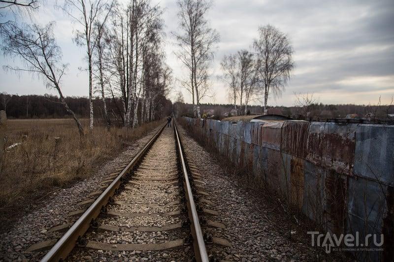 По рельсам из Люберец в Лыткарино / Россия