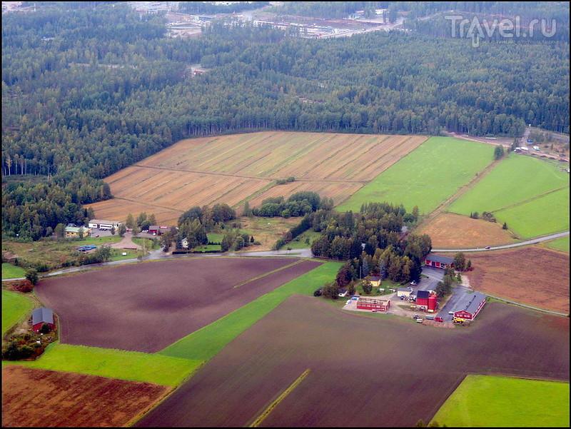 Неожиданный скандинавский транзит. Рейс HEL-CPH / Финляндия