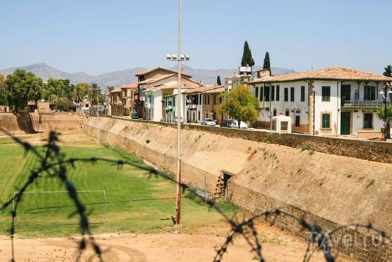 Граница в турецкой части Никосии
